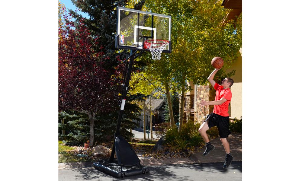 Spalding portable angled basketball hoop 2593   web6