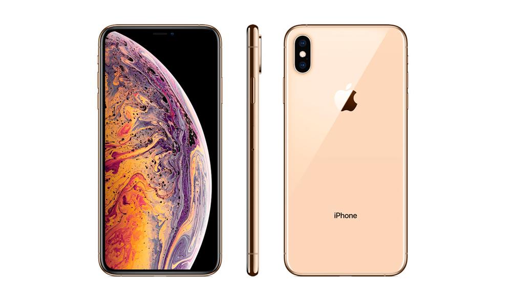 Gold iphone xs 256gb   refurbished 2602   web1