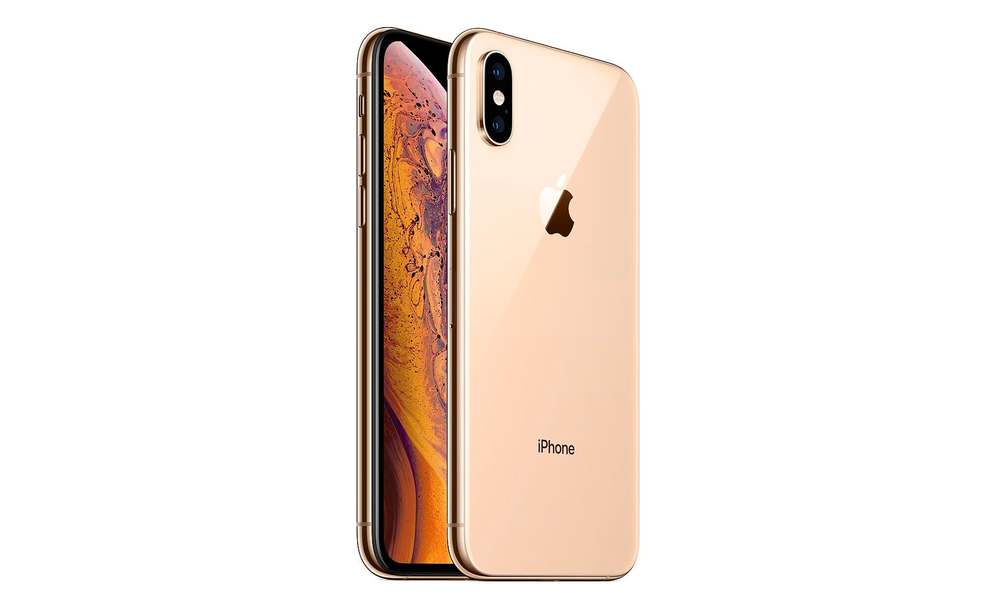 Gold iphone xs 64gb   refurbished 2601   web1