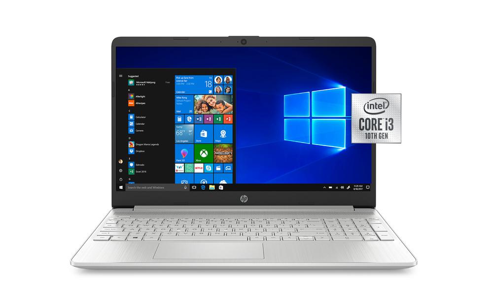 Hp 15.6  i3 8gb 256gb laptop silver 2596   web1