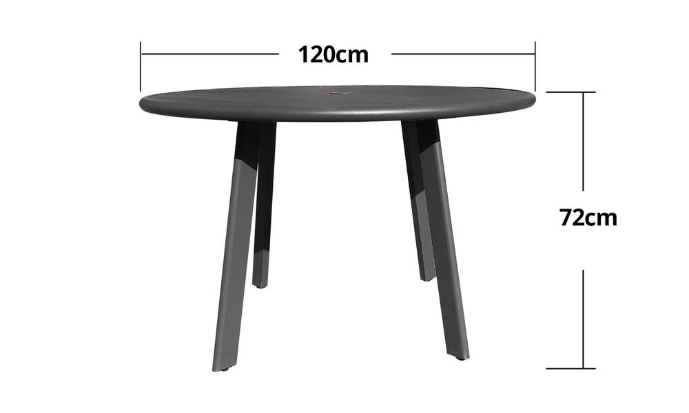 Full alum side table 120cm 2598   web2