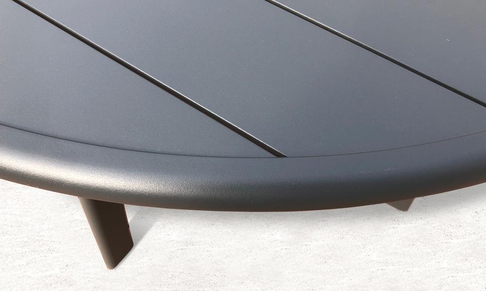 102cm full alum side table 2597   web3