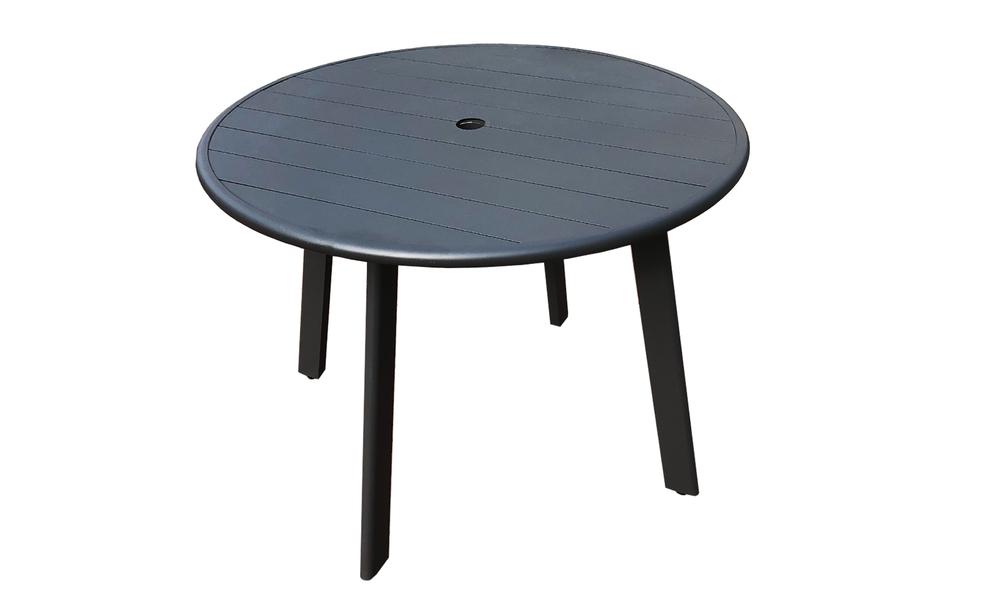 102cm full alum side table 2597   web2
