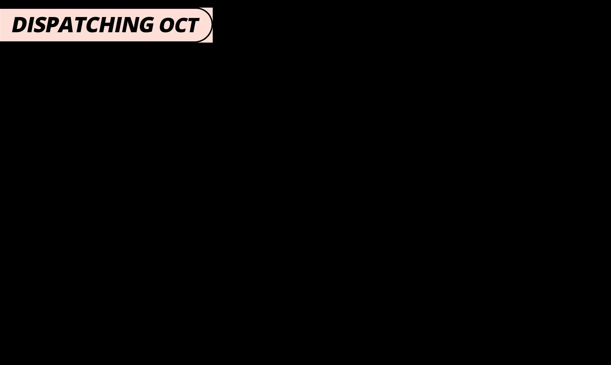 Dispatching oct   peach