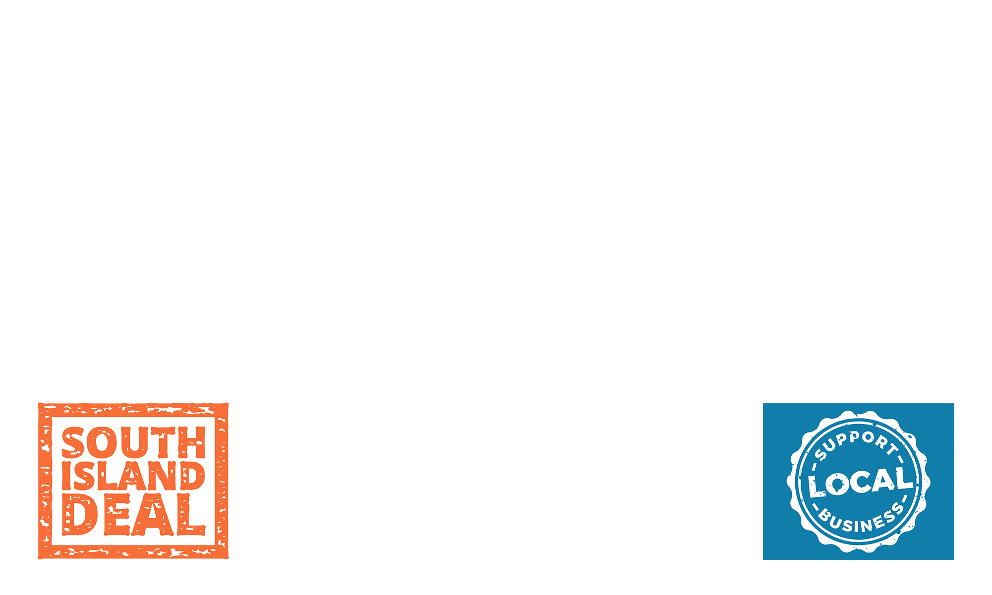 South island support logo overlay