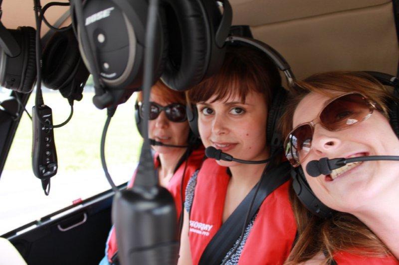 RedBalloon helicopter flight over Sydney