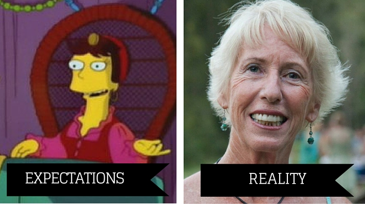 Clairvoyant expectations vs reality