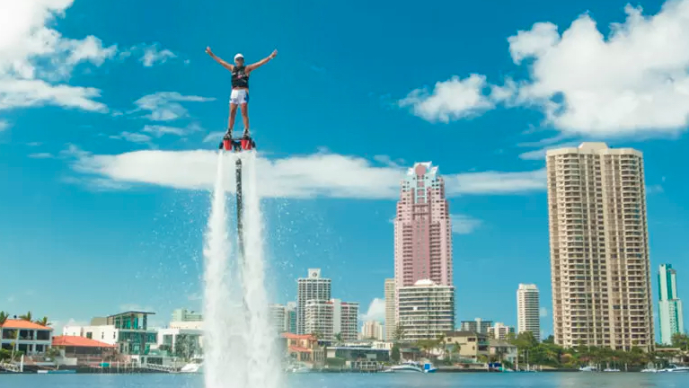 RedBalloon flyboard experience