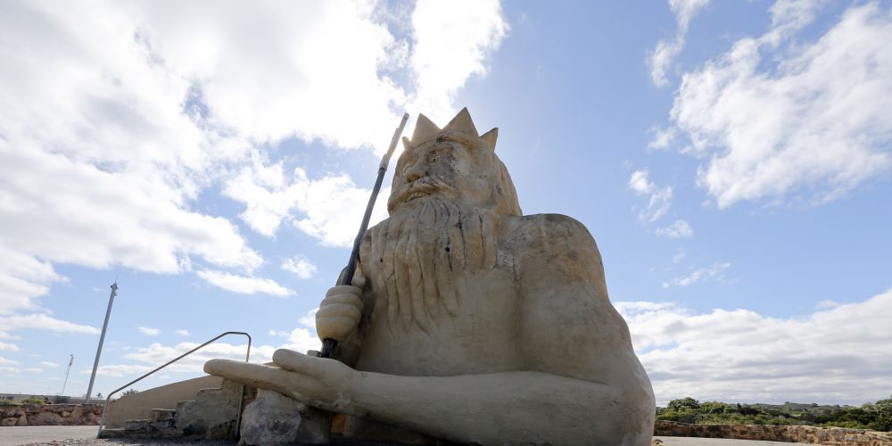 King Neptune has been restored and opened as a park. d438053