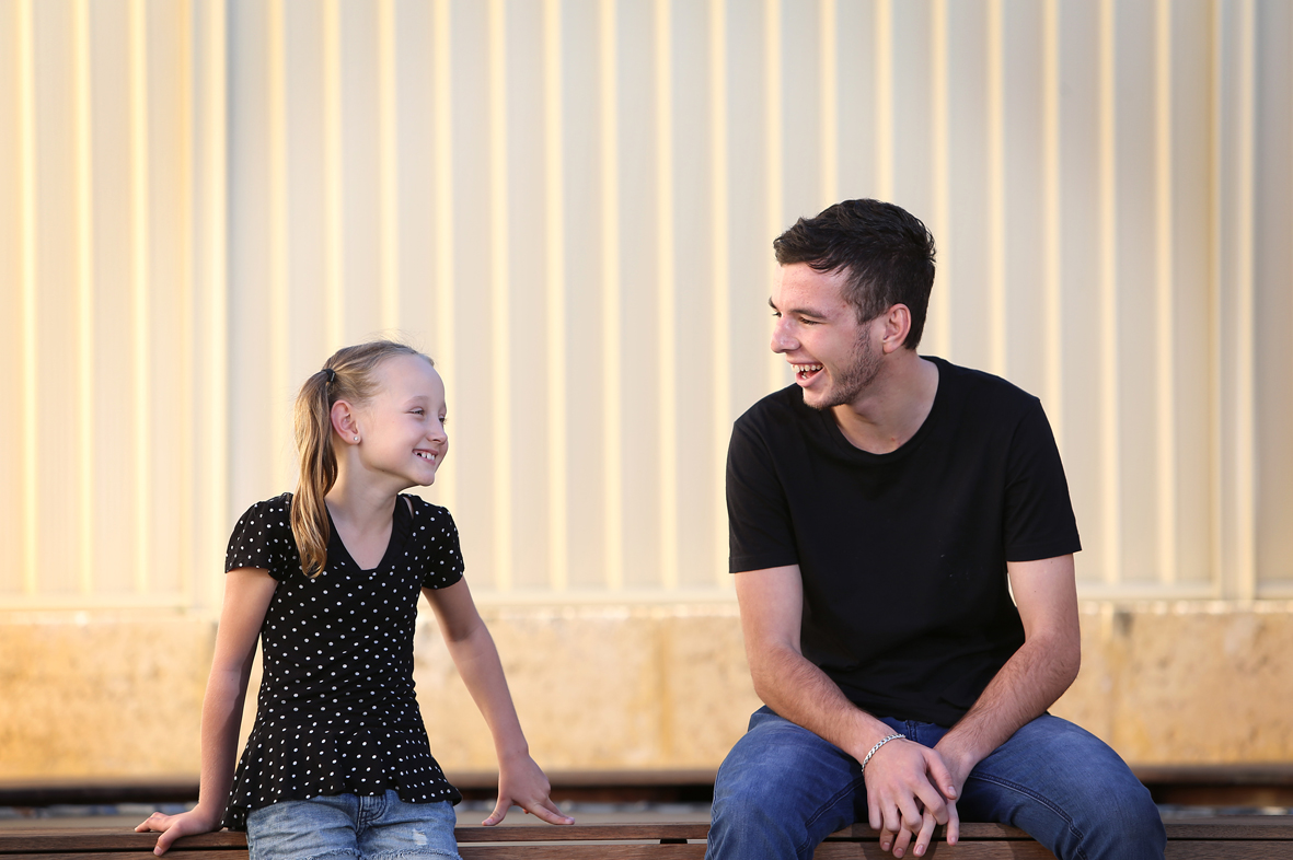 Kidzucate founder, Sian Williams with Matt Bonser, they are teaming up to hold a youth advocacy workshop. Picture: Emma Goodwin