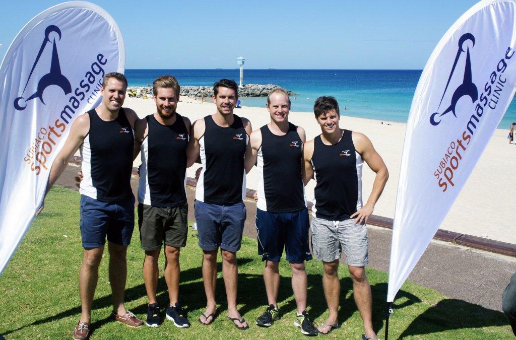 Olympians for port to pub swim