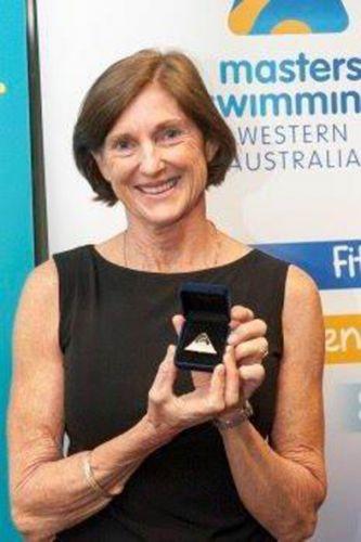 New Masters Swimming WA life member Kim Tyler.