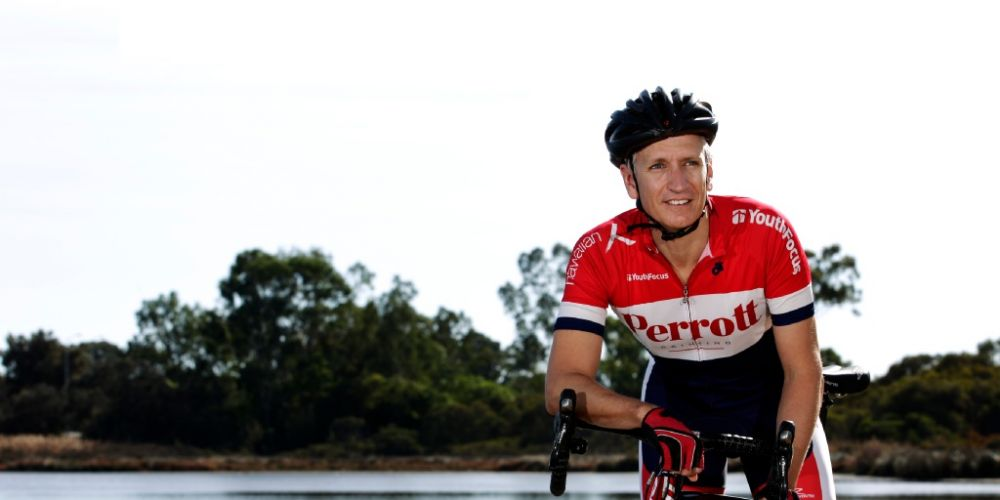 Canning Vale cyclist Clay Yarwood will participate in the ride for the first time.