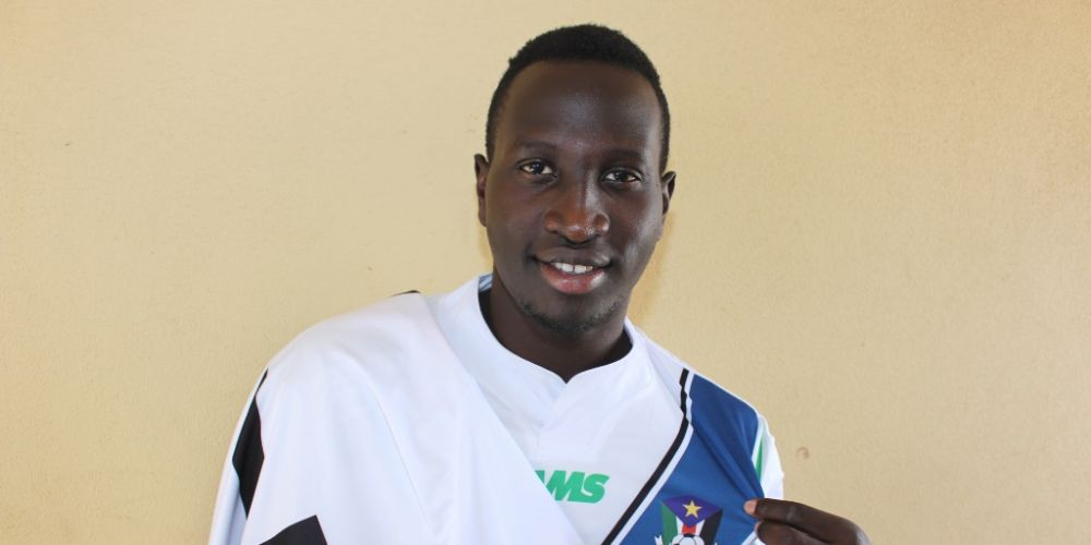 Friday Zico is proud to count himself among the ranks of international footballers after debuting for South Sudan last year.