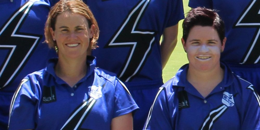 Jenny Wallace and Renee Chappell headlined a successful night for Melville Storm at the women's WACA awards night.