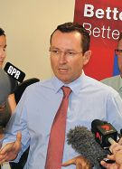 Opposition leader Mark McGowan says Labor will move the International School of WA to Doubleview.