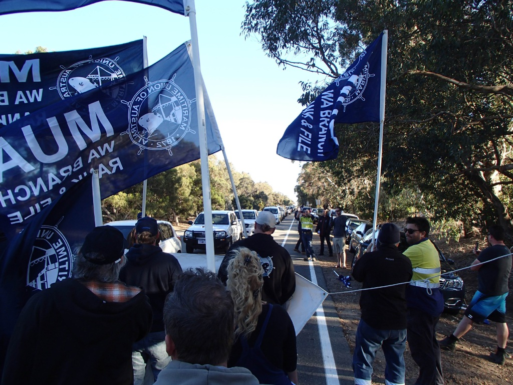 Alcoa Pinjarra: protest against foreign workers