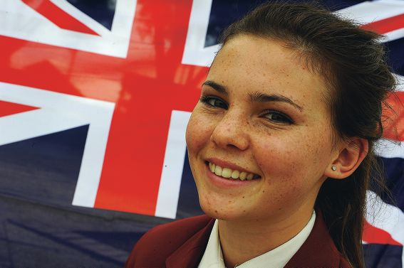 Kirstie Morrison has been chosen by Legacy to represent WA in the Anzac Day service in Canberra. Picture: Jon Hewson