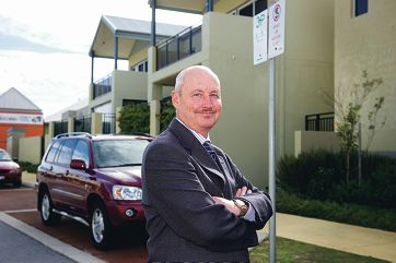 Dr Mark Pollard would like parking permits for people who work near the railway station because local the parking space is taken up by commuters