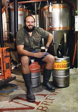 Head brewer Paul Wyman.
