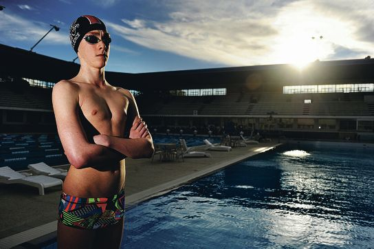 Raife Sillence is Swimming WA's Junior Swimmer of the Year. Picture: Marcus Whisson www.communitypix.com.au d401437