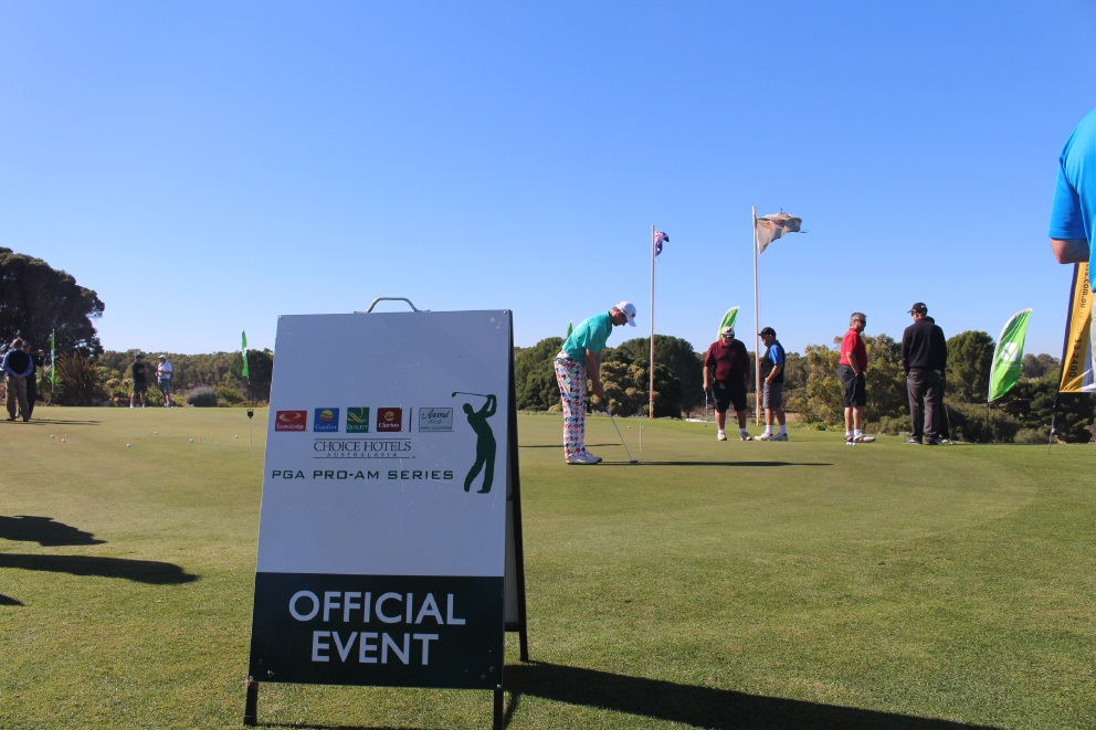 Yanchep Golf Estate Sun City Pro-Am 2015. There is healthy interest from players for this year's event.