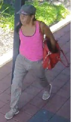 A woman police want to talk to about theft and fraud in Forrestfield.