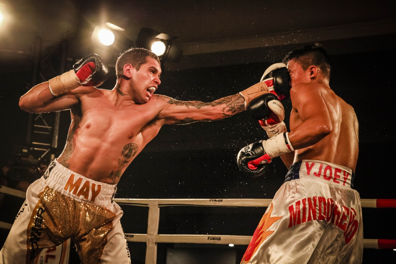 Nathaniel May could punch his name into the IBF top 15 with a win over his Thai opponent.
