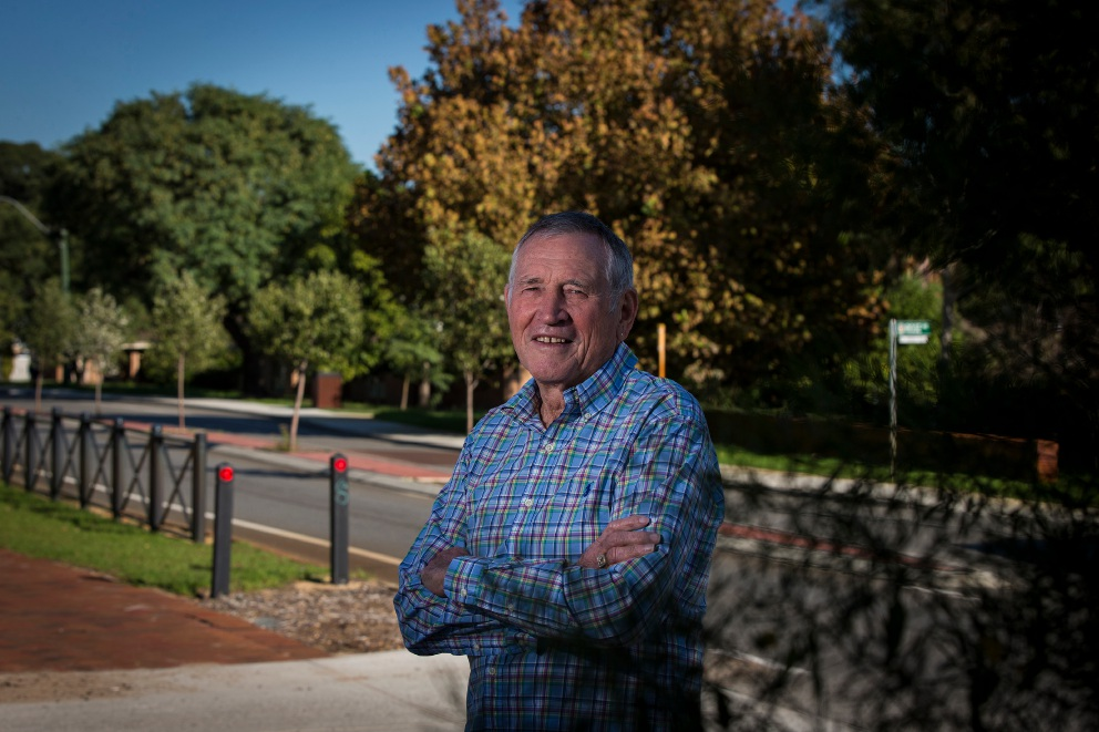 Bayswater resident Peter McKimmie will lead the walk.