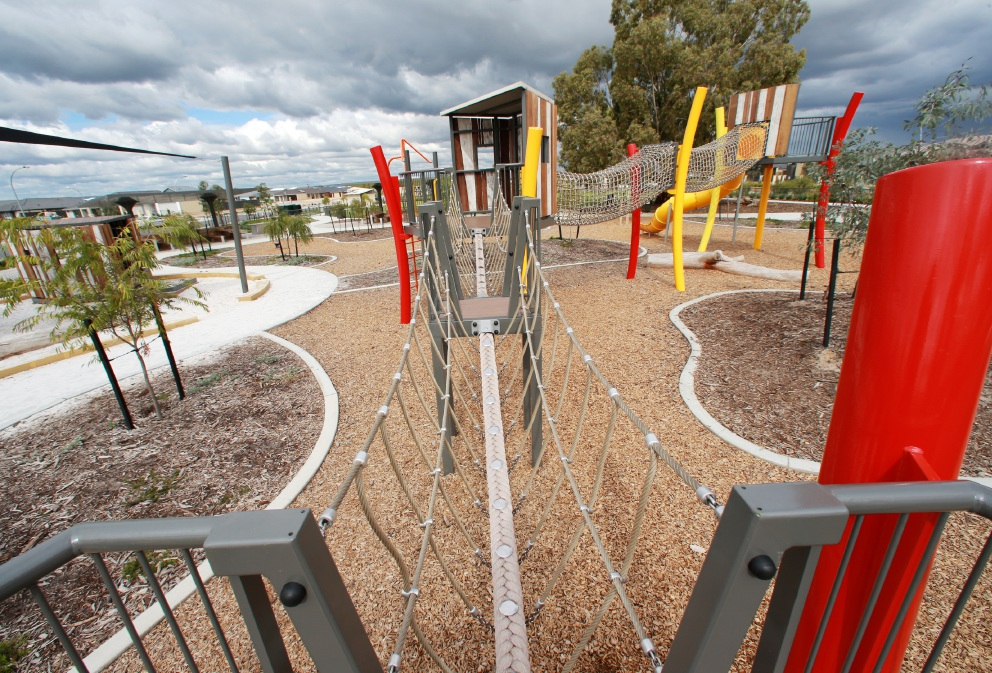 The Common Playground in Mayfield Drive, Brabham. Picture: David Baylis d453342