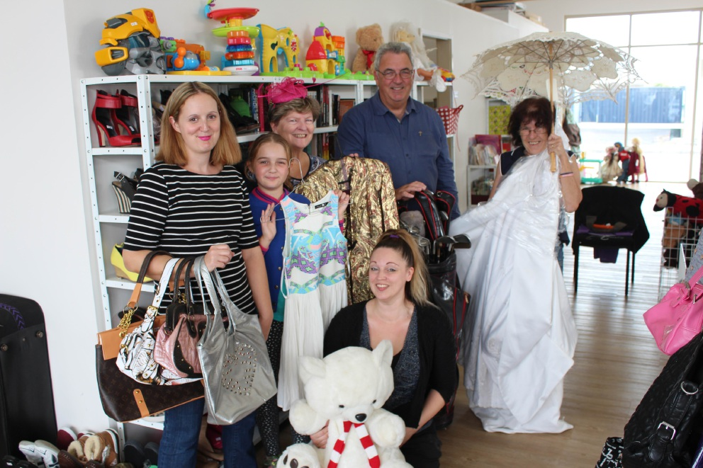 The Secret Harbour Anglican Church op shop opened on April 27.