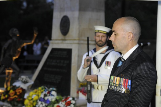 Major Ash Cogdon.  Picture: Chris Kershaw