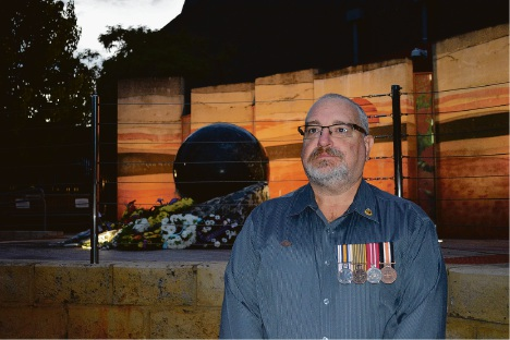 Silence falls in Ballajura as show of respect to Anzacs