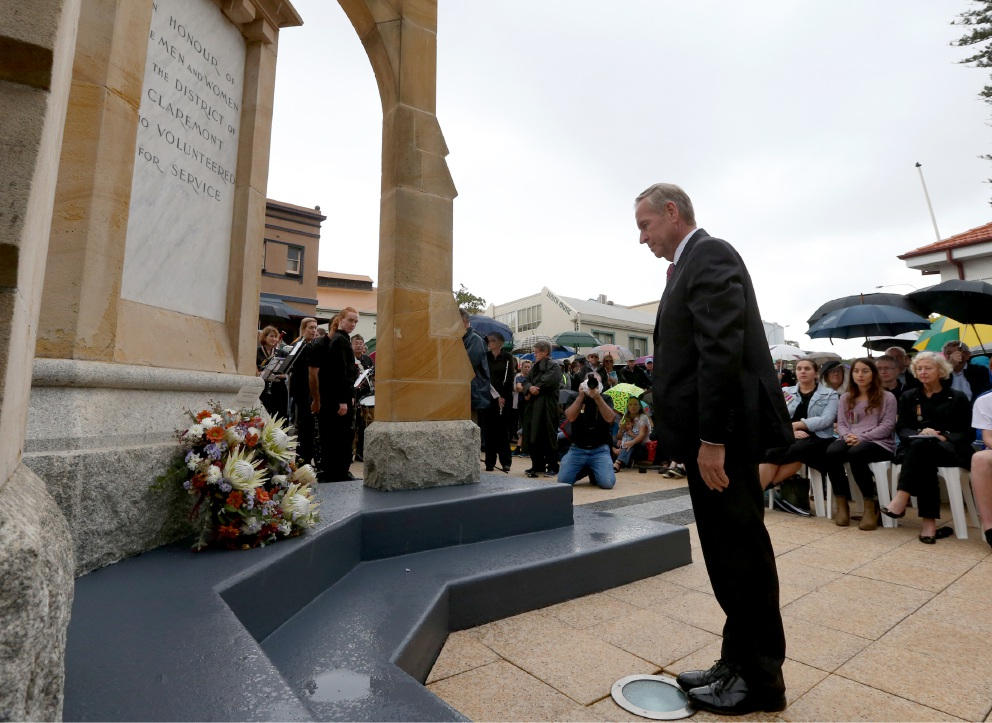 Claremont Anzac service sees Major-General speak from the heart