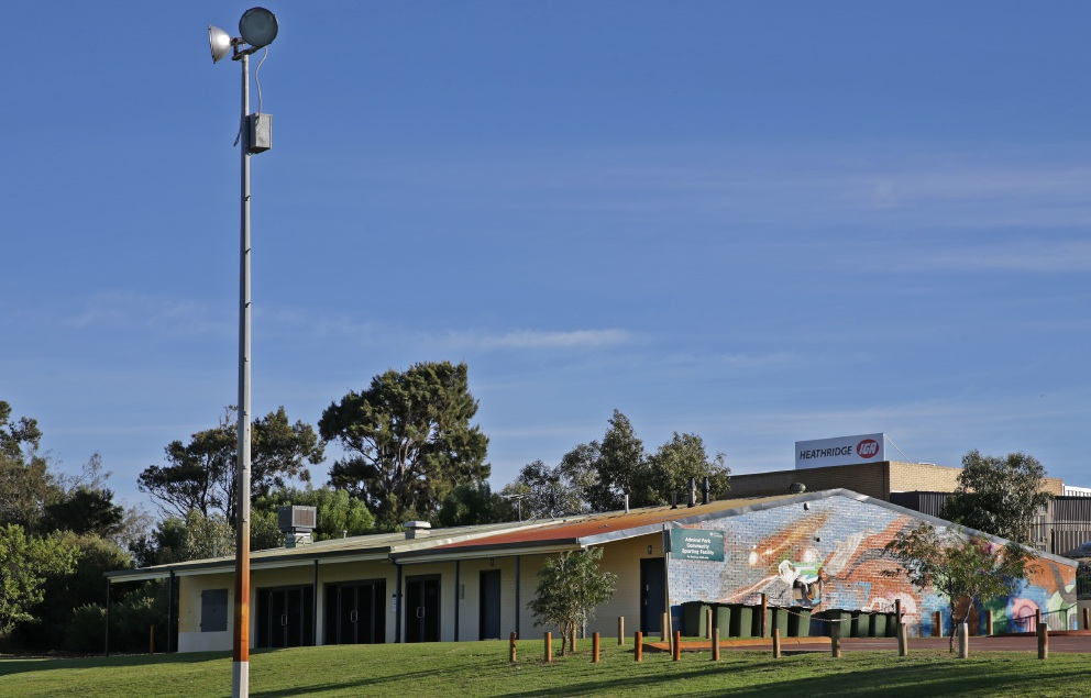 The floodlighting at Admiral Park will be upgraded after the City received partial funding from the Department of Sport and Recreation.