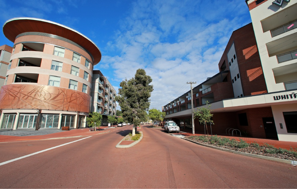 Buildings near 78 Old Perth Road in Bassendean. Picture: David Baylis       d452766
