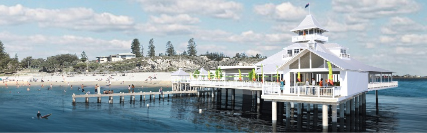 Cottesloe Pier champion Laurie Scanlan will ask for planning permission if EPA give nod