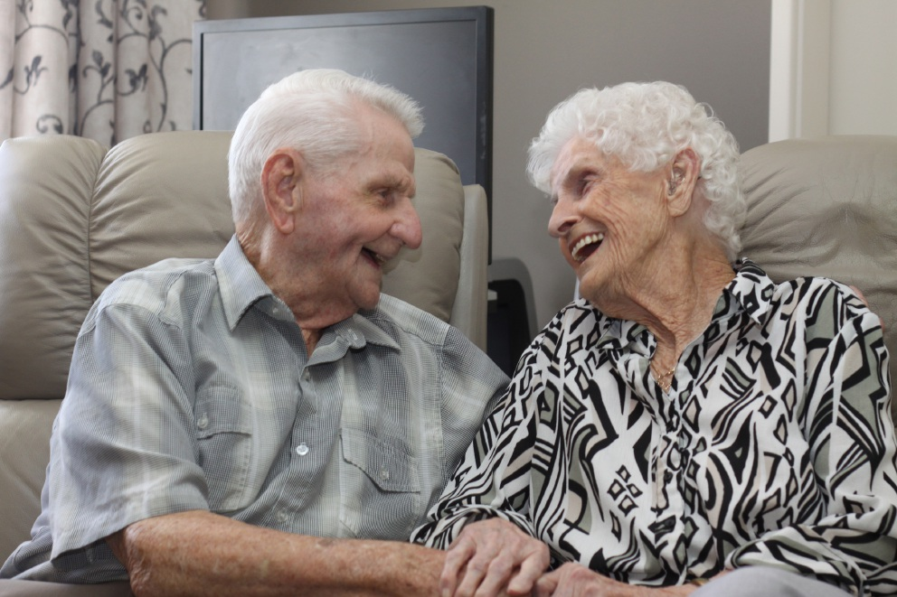 The dance goes on for Ron (99) and Mavis (97) Wright, who met at ballroom dancing classes in 1938. Picture: Gabrielle Jeffery