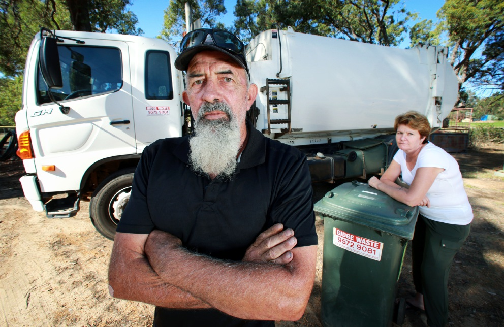 Gidge Waste dumped by council
