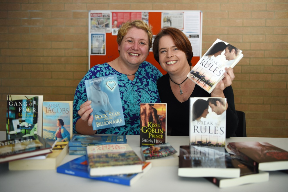 Rockingham authors to launch novels at book fair