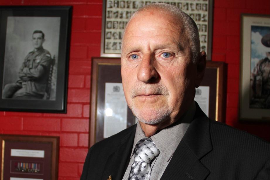 Vietnam veteran Keith Boxshall.