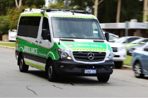 A man was taken to hospital with serious head injuries. Picture: file image