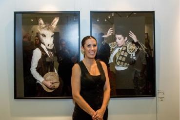Eva Fernandez won the Gerry Gauntlett Award for Platero y Yo. Picture: Kelly Pilgram-Byrne