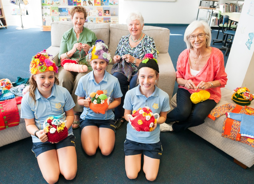St Hilda's ex-teachers share passion through knitting