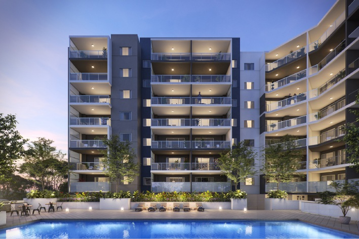 Chase Apartments is located 5km from the CBD.
