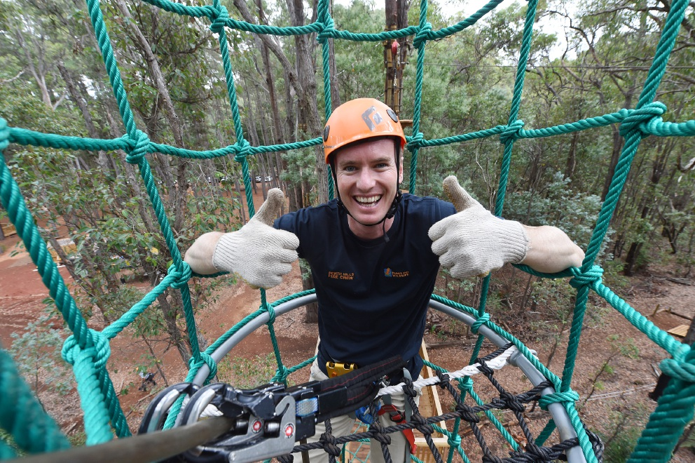 Trees Adventure in Dwellingup opened by Environment Minister Albert Jacob