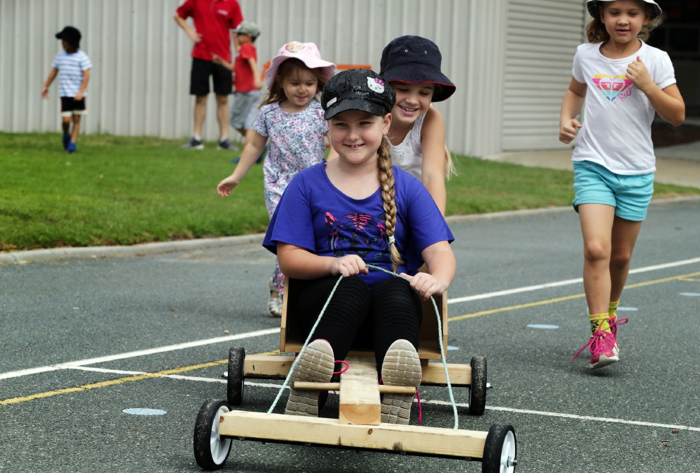 Billy carting helps holidays speed by for Duncraig kids