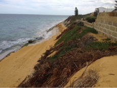 Seabird properties are under threat from coastal erosion.