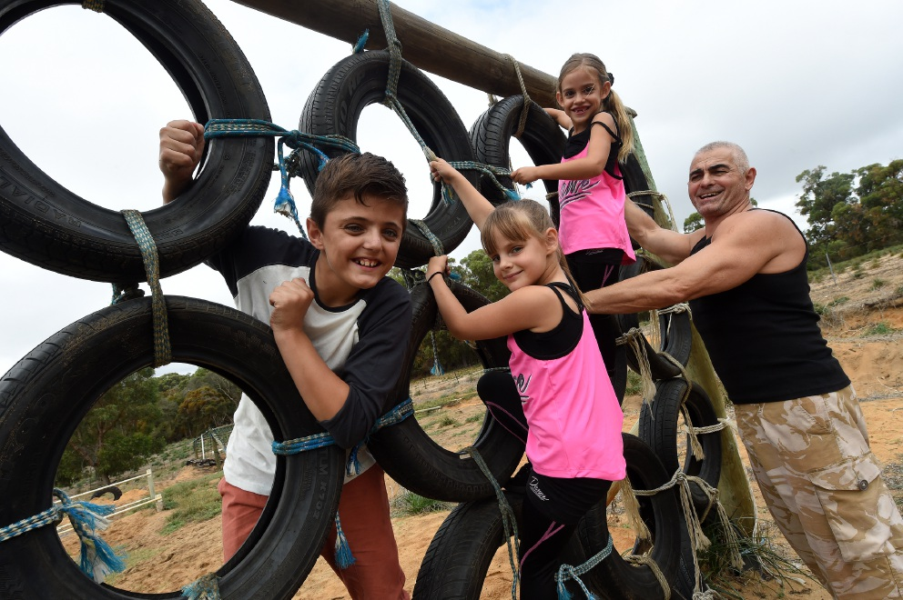 Baldivis obstacle course big hit with kids