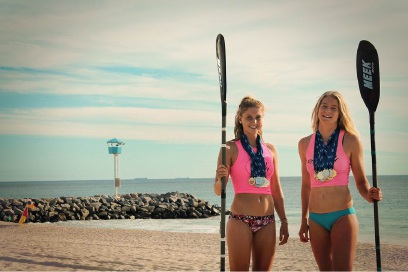 Australian Surf Life Saving Championships hopefuls Jade Mickle and Jayde Hardstaff looking forward to testing their mettle